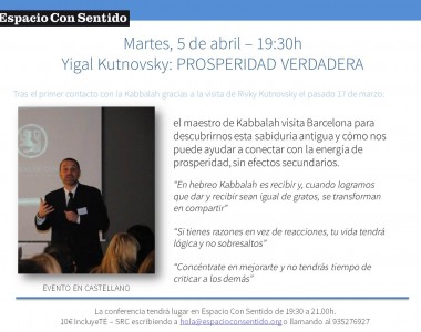 YIGAL K. 5 ABRIL